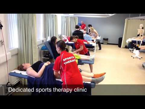 Sports therapy @ Staffs Uni