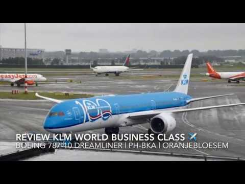 Review KLM World Business Class - Boeing 787-10 Dreamliner |