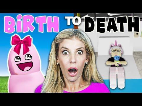 BIRTH TO DEATH IN BROOKHAVEN! (Rebecca Zamolo ROBLOX RP)