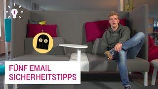 5 Email Sicherheitstipps - Netzgeschichten