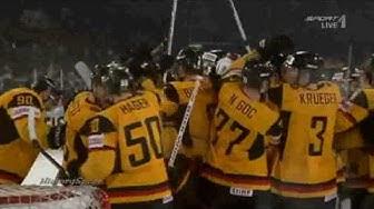 Eishockey WM 2010 - Deutschland vs USA 2-1 (IIHF Weltrekordspiel)