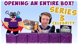 Roblox Celebrity Series 3 Mystery Blind Box Toys (Opening Entire Box😱)