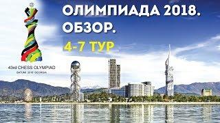 ТОП-3 ЛУЧШИХ ПАРТИЙ ШАХМАТНОЙ ОЛИМПИАДЫ. 4-7 ТУРЫ 0+