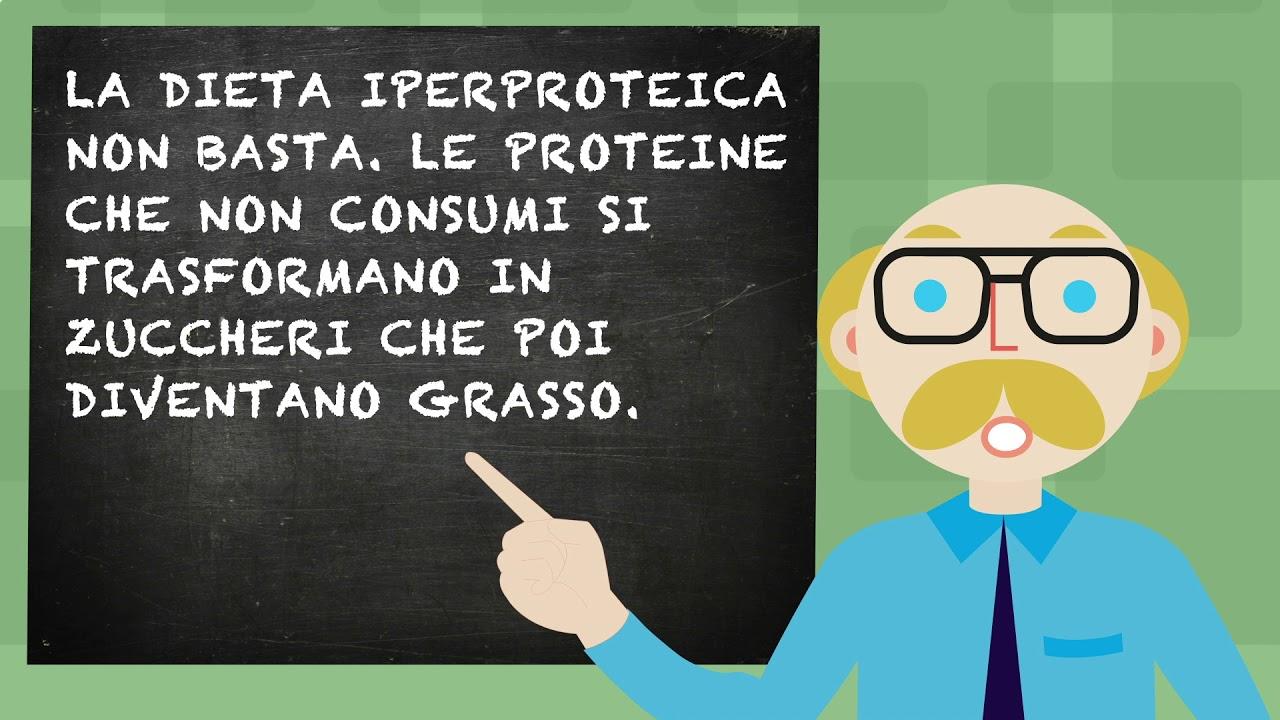 dieta proteica percentuale per perdere peso