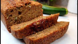 ZUCCHINI BREAD  EASY Zucchini Bread Recipe  Bake With Me