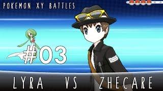 Pokémon XY Battles - #3 Lyra vs Zhecare [VGC 2014]