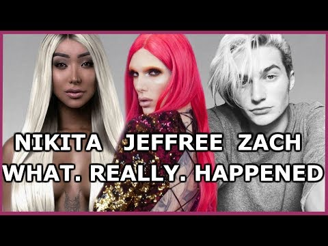 Thumbnail: WHAT REALLY HAPPENED BETWEEN JEFFREE STAR, NIKITA DRAGUN & WHY ZACH MOVED OUT!.