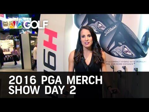 2016 PGA Merchandise Show Day 2 1/28/16 | Golf Channel