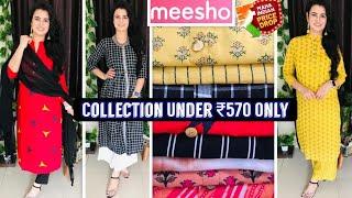 Meesho Haul ₹195-₹570👗Meesho Kurta Set Haul👗Earrings/Kaftan Kurti/Kurta Set👗MEESHO PRICE DROP SALE