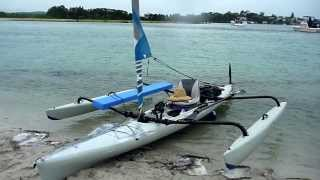 sandtrax hobie adventure island camp cooking kayak camping