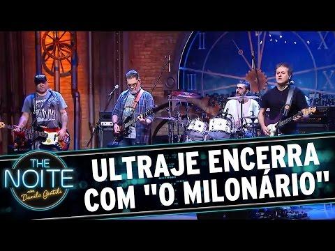 """The Noite (29/08/16) - Ultraje encerra ao som de """"O Milonário"""""""