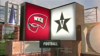 Vanderbilt vs Western Kentucky NCAA Football Highlights 2017