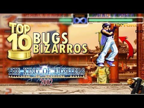 BUGS BIZARROS EM THE KING OF FIGHTERS 2002 | KOF da Depressão