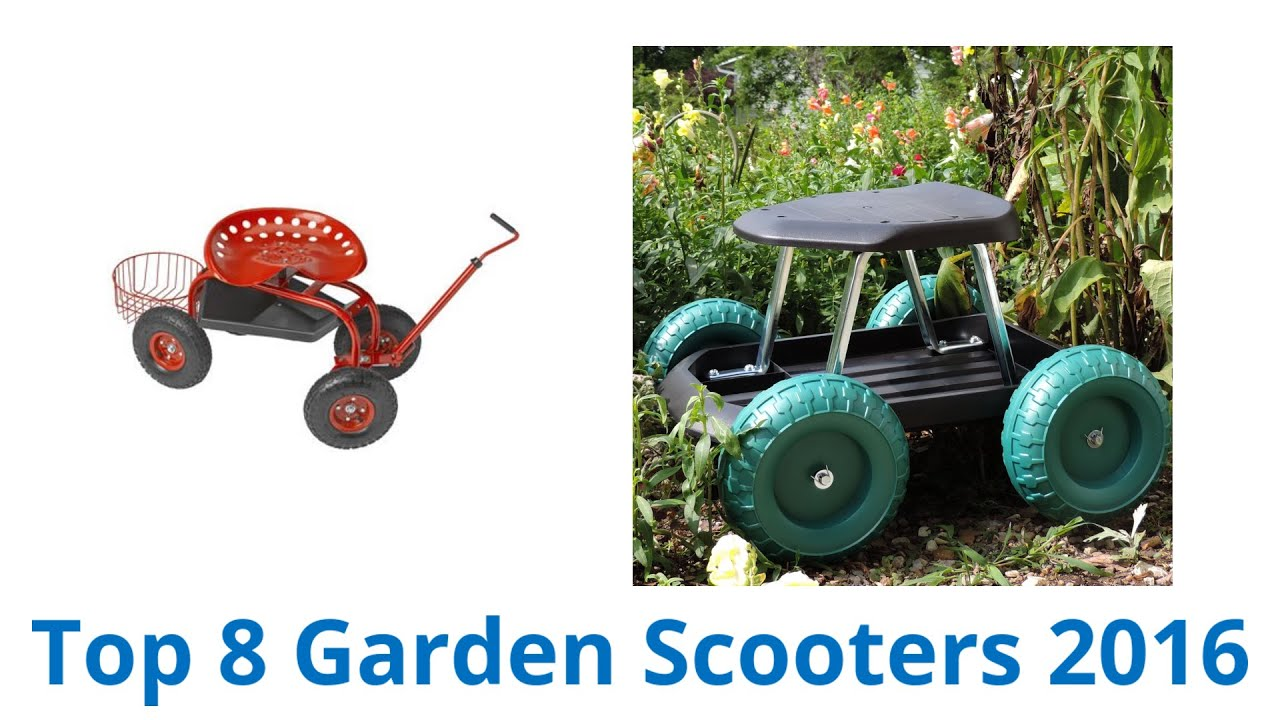 Captivating 8 Best Garden Scooters | Fall 2016