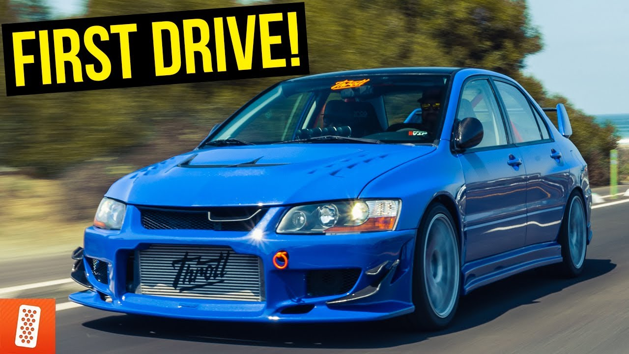 Feeling Full Throttle In The Evo Viii For The First Time Pov Drive With Mickey Andrade Youtube