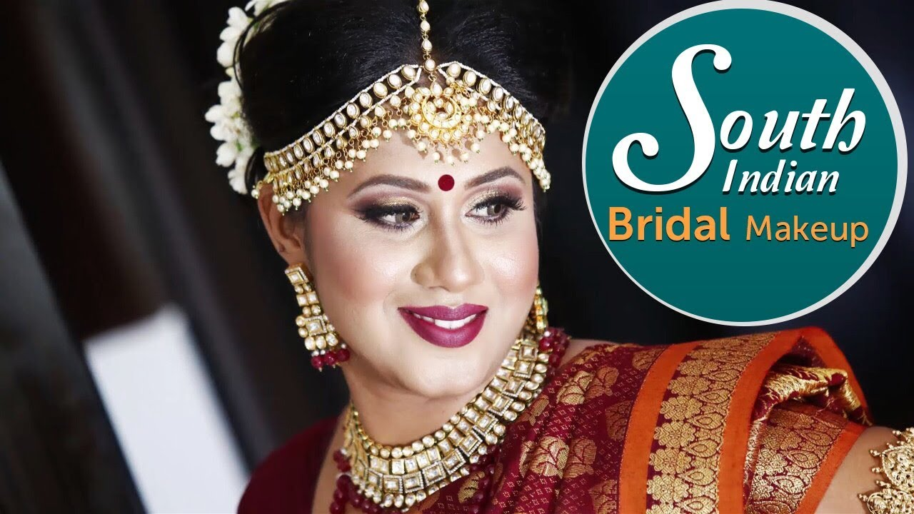 south indian bridal makeup tutorial | step by step real bridal makeup tutorial | krushhh by konica
