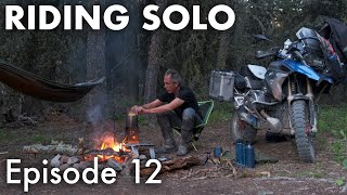 Riding Solo 12 - Reṁote Forest Camping in Montana