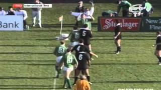 Ireland vs New Zealand - Carisbrook - 1992