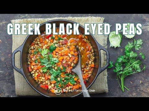 Greek Black Eyed Peas Recipe Vegan | The Mediterranean Dish