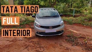 TATA Tiago 2019 1.2 Revotron XM Full Interior | TATA Tiago 2019