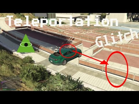 GTA 5 Crazy Teleportation Glitch!! (GTA 5...