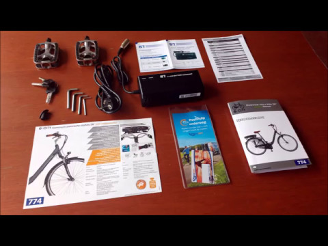 unboxing aldi city e bike 28 39 39 met middenmotor nr 774 mei. Black Bedroom Furniture Sets. Home Design Ideas