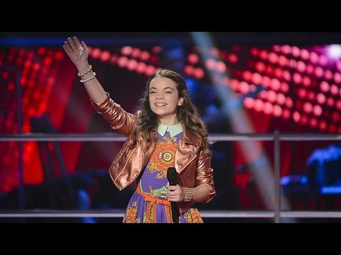 Harmony sings What The Worlds Needs Now | The Voice Kids Australia 2014