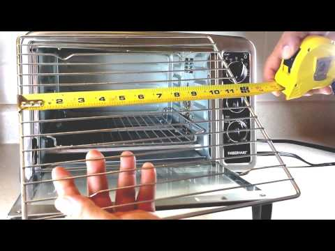 Farberware Convection Countertop Oven Stainless Steel Review : FARBERWARE Convection Counter Top Oven SS Review & Test - YouTube