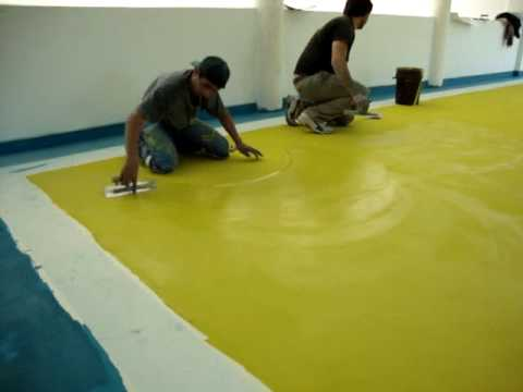 4 argos aplicacion de microcemento color youtube - Aplicar microcemento ...