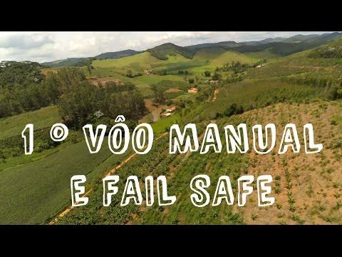 Drone em minas tbs discovery primeiro voo manual e fail safe.