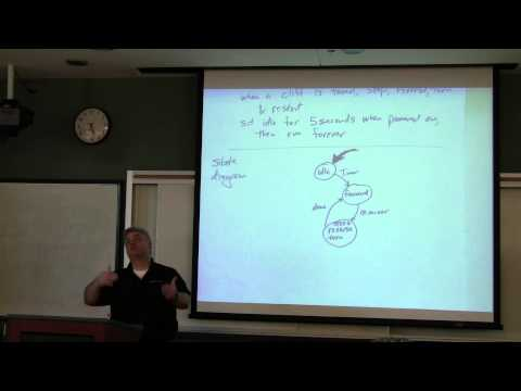 Introduction to Robotics Course -- Lecture 14 - Robotic State Machines