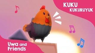 Download Mp3 Kuku Kukuruyuk - Lagu Ayam Jago - Lagu Anak Indonesia 90an