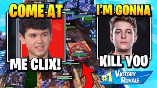 Clix DESTROYS Bugha In $10,000,000 Tournament | Fortnite Daily Funny Moments Ep.430