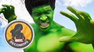Cosplayer Ryan Green becomes the Hulk - Marvel Becoming