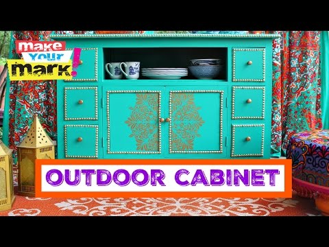 How to: Outdoor Cabinet Makeover