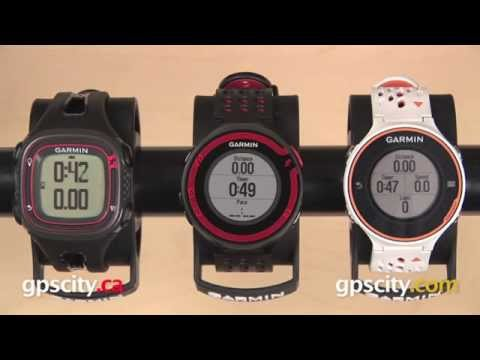 Garmin Forerunner 10, 220, 620: Features Comparison with GPS City