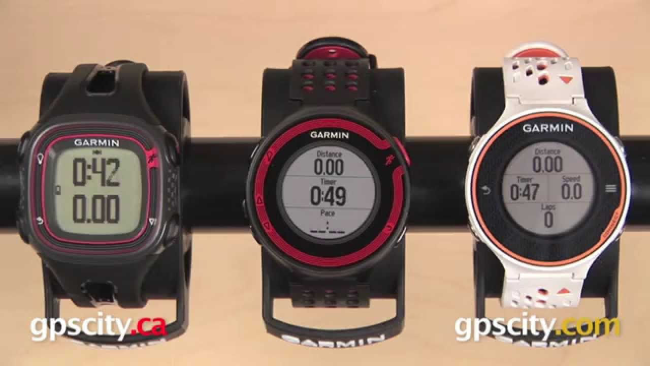 Garmin Forerunner 10, 220, 620: Features Comparison with ...