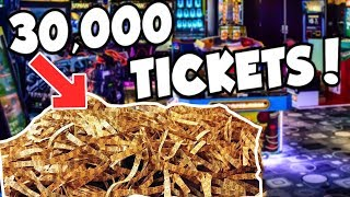 I WON 30,000 TICKETS FROM THE ARCADE!!! thumbnail