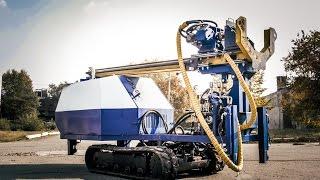малогабаритная буровая установка sbu 60XL(малогабаритная буровая установка sbu 60XL с дизельным двигателем мощностью 60 л.с. на самоходной гусеничной..., 2015-08-25T16:53:18.000Z)