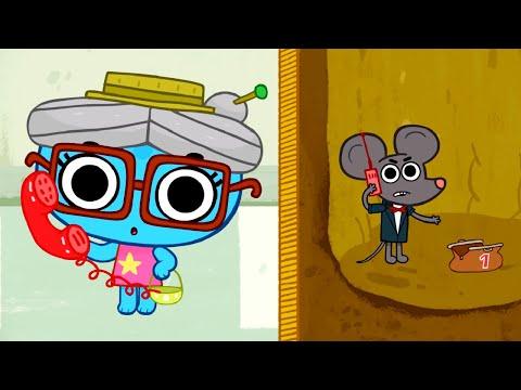 Катя и котя мультфильм все серии новые