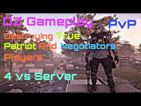Division 2 | PvP | DZ Gamplay 4 V Server