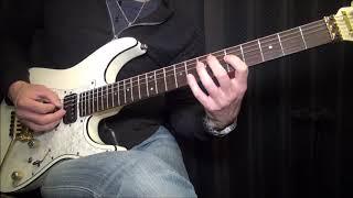ザックリと雰囲気&ギターソロはテキトーに弾いておりますので、その辺...