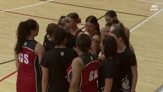 Netball | Westlake Girls' HS vs Manukura | Sky Sport