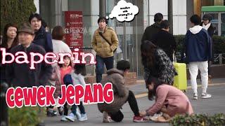COWOK TANGAN PATAH BIKIN BAPER CEWEK JEPANG | SOCIAL EXPERIMENT KEPEDULIAN ORANG JEPANG !! MP3