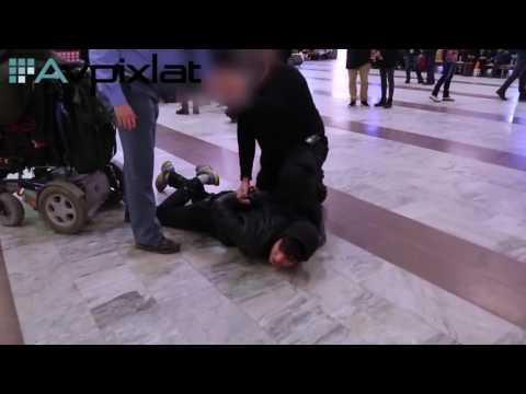 Knife-wielding migrant arrested at Stockholm Central Station, Sweden