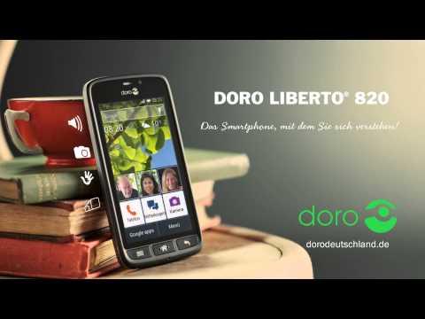 Rote Rosen wird Ihnen präsentiert von dem einfachen Smartphone Doro Liberto 820