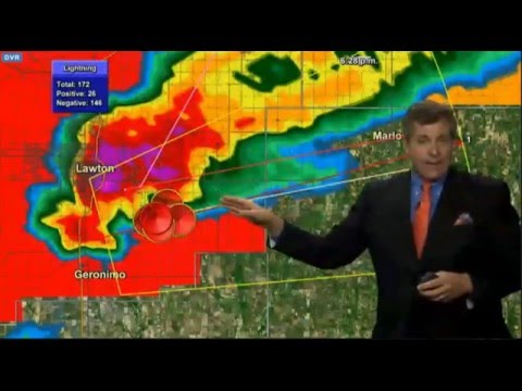 5/8/2016 Lawton Tornado Live Coverage KFOR