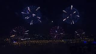 Шоу фейерверков РосТех в Братеево
