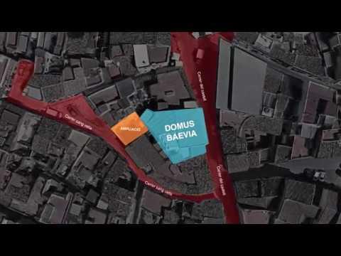 El fondo europeo FEDER concede una ayuda para ampliar el proyecto de la Domus Baebia