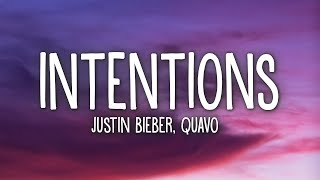 Gambar cover Justin Bieber - Intentions (Lyrics) ft. Quavo